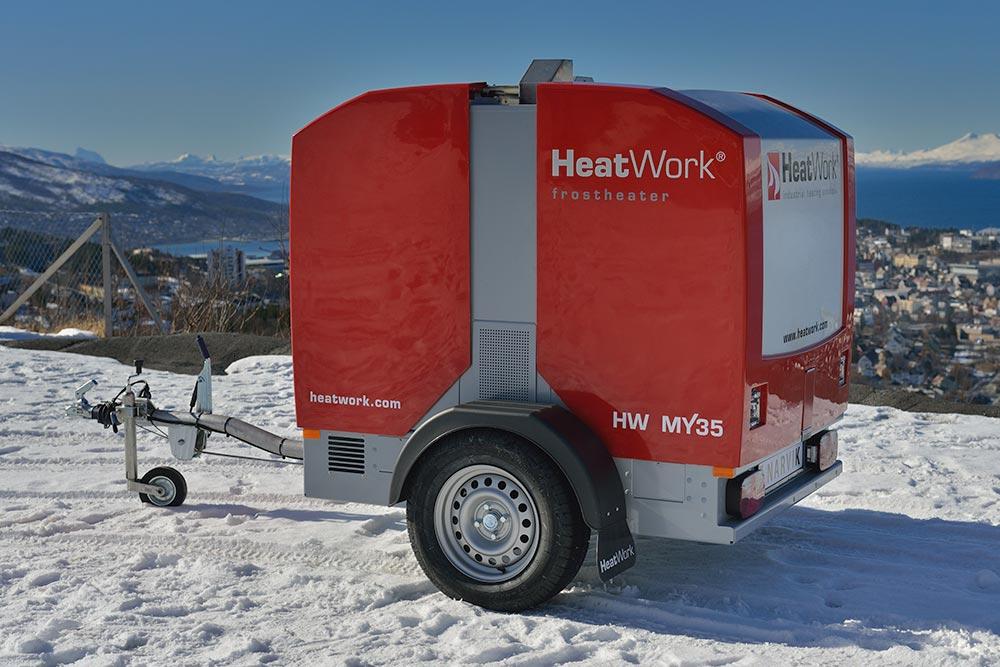 Drammen Liftutleie AS - HeatWork MY35
